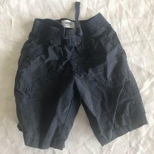 Little boys blue cargo shorts 4t